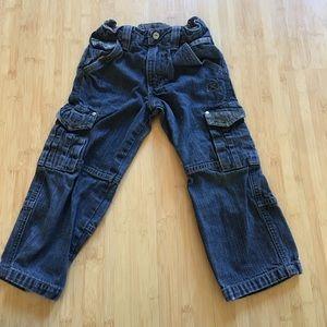 🍭NWOT Wrangler cargo jeans - boys 4T